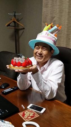 社長誕生日