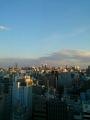 M記念病院13階違う窓から 夕方(2014.04.06)