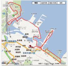 走りつづける RUN ニャー-地図