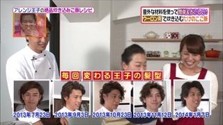 アレンジ王子(有坂翔太)の髪型