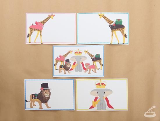 アニマルポストカード