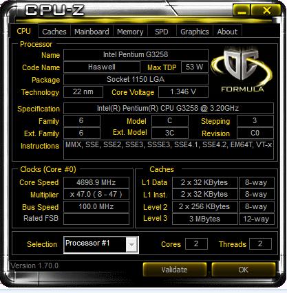 CPU Z H97 1