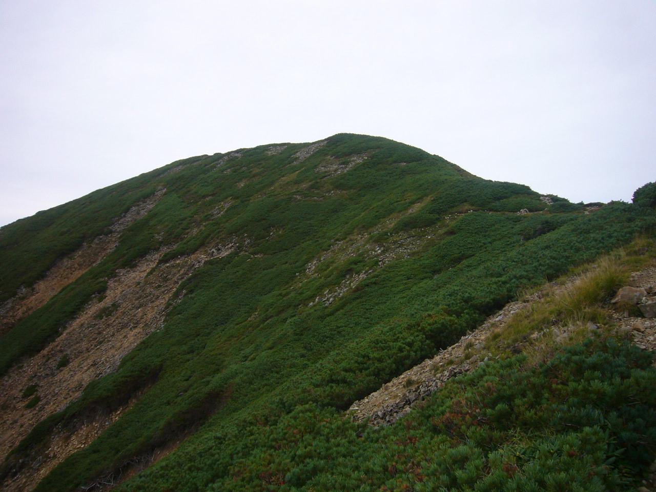 登山道崩落 H22.9.24撮影