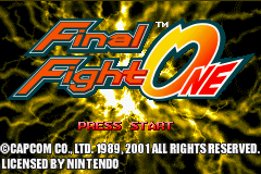 Final Fight One 00