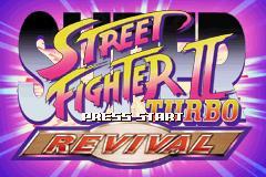 Super Street Fighter II X Revival GBA 00