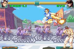 Super Street Fighter II X Revival GBA 02