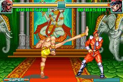 Super Street Fighter II X Revival GBA 04