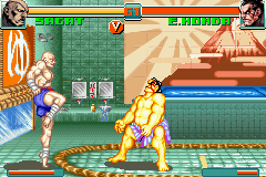 Super Street Fighter II X Revival GBA 05