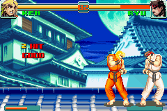 Super Street Fighter II X Revival GBA 06
