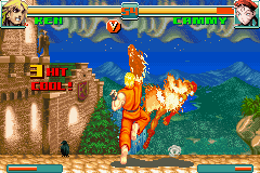 Super Street Fighter II X Revival GBA 07