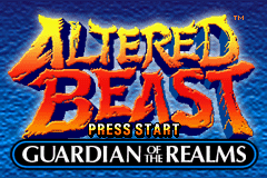 Altered Beast GBA 00