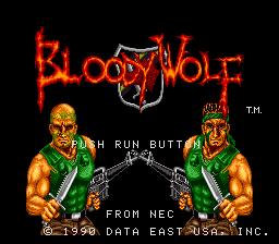Bloody Wolf PCE 00
