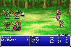 Final Fantasy I II GBA 06