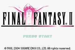 Final Fantasy I II GBA 04