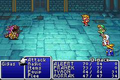 Final Fantasy I II GBA 03