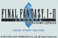 Final Fantasy I II GBA 00