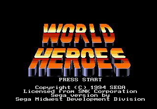 World Heros MD 00