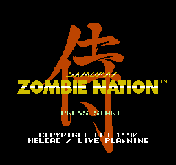 Zombie Nation NES 00