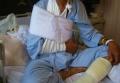 入院当時の姿