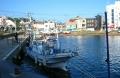 停泊する漁船