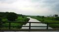 初雁橋から見た入間川上流