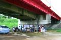 初雁橋の下