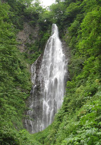 夏のくろくまの滝2