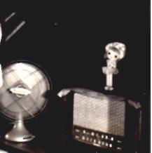 昭和30年扇風機とラジオ