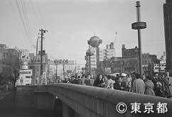 数寄屋橋(昭和30年)