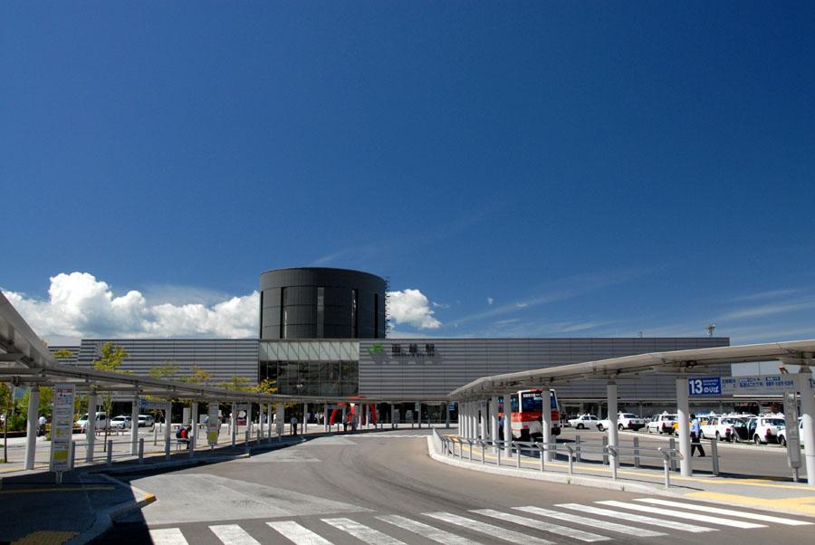 2014年現在の函館駅