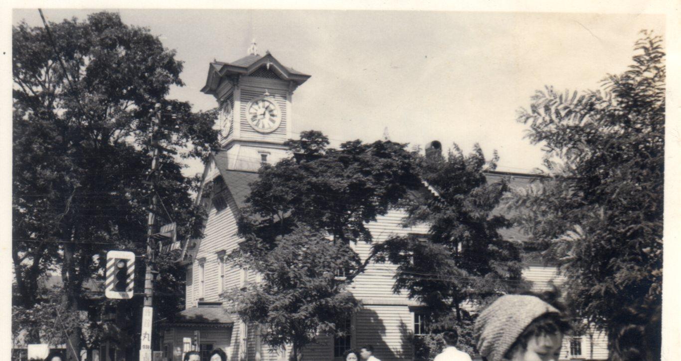 北海道札幌・時計台(1960年)285