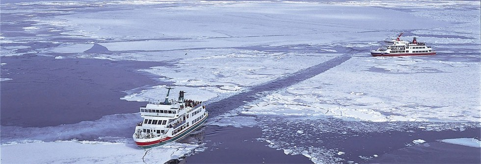 北海道網走オホーツク海