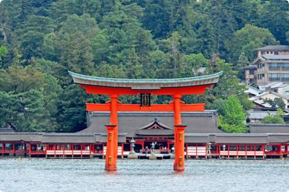 広島・厳島神社鳥居