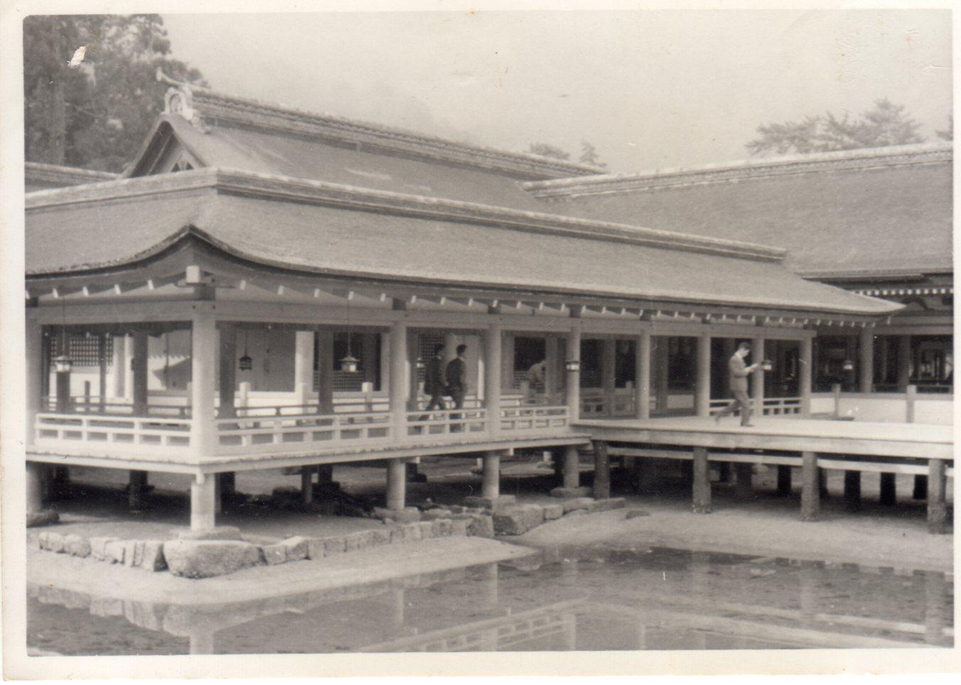 広島・宮島・厳島神社1962年(昭和37年4月)312