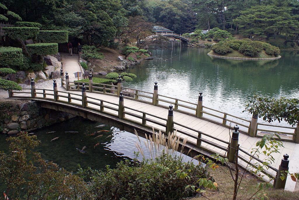 高松栗林公園・