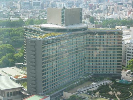 1964年完成のホテルニューオータニ