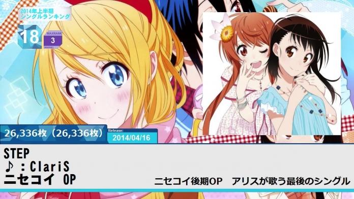 sm23749886 - 上半期アニソンランキング 2014 SINGLE BEST 150【ケロテレビ】1-50.mp4_000955287