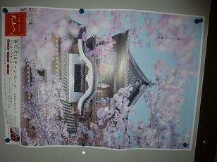 櫻の犬山城
