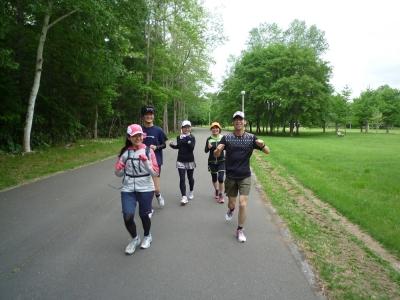 6月7日練習会真駒内公園