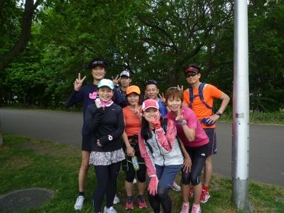 6月7日真駒内公園集合写真