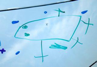 かさ・かえる飛行機