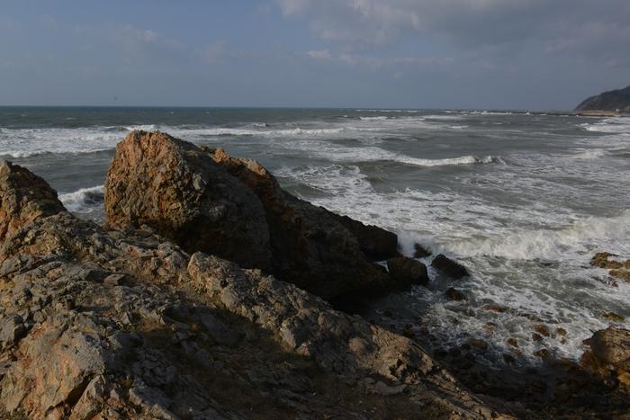 高波の日本海-1