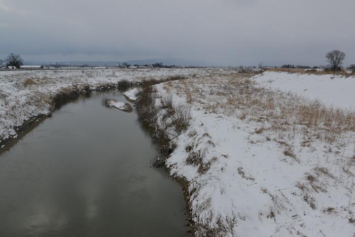 冬の河 Ⅱ-1