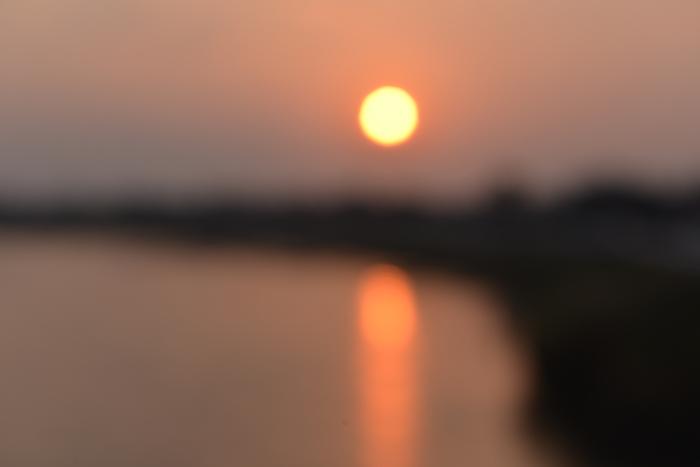 夕陽 河-3