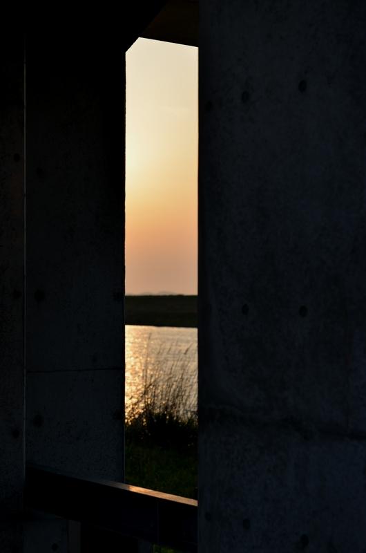 今日の夕陽-2