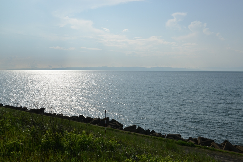 穏やかな夏の海-1