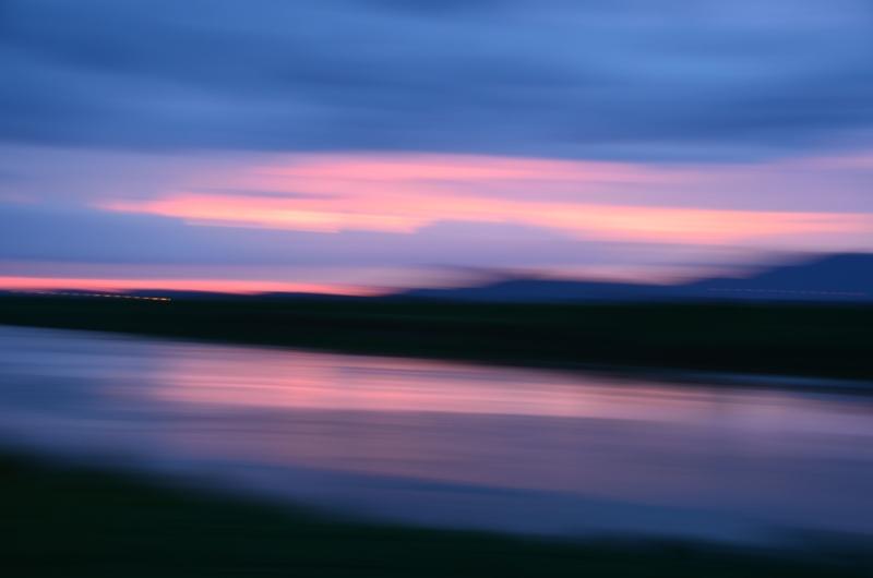 今日の夕陽 2