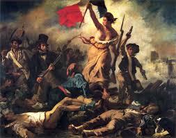 ドラクロワ「民衆を率いる自由の女神」