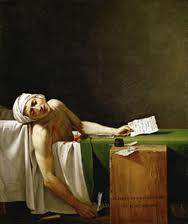 ダヴィッドの「マラーの死」