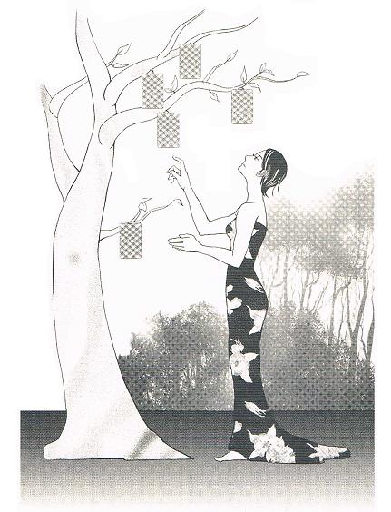 挿絵・タロットの樹